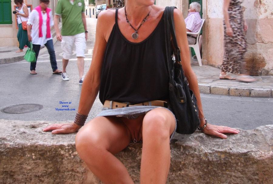 Pic #6 Bexx Upskirts - Public Place, Public Exhibitionist