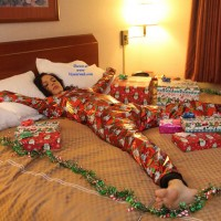 Gift Wrapped - Brunette, Latina, Striptease