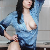 In The Kitchen - Brunette Hair, Sexy Lingerie , Hi. Look Out My New Photos In The Kitchen! Kisses!