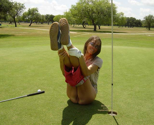 Pic #2 - Txcurious Playing Golf