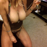Extremely large tits of my wife - P xxx