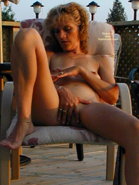 Pic #8 - *Ty  Nipple And Pussy Play Outside