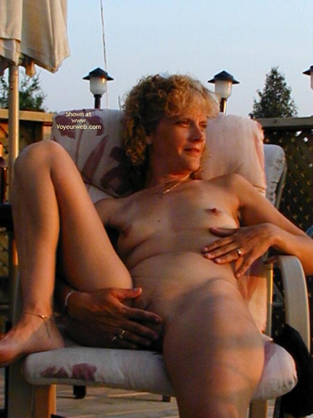 Pic #9 - *Ty  Nipple And Pussy Play Outside