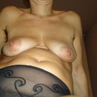 Medium tits of my wife - mogliie