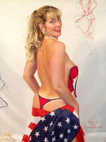 Pic #7 - Red, White And Blue