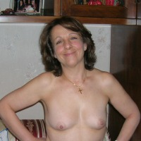 Small tits of my wife - daniela