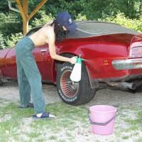 Washing My Car Naked
