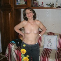 Small tits of my wife - DANIELA