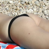 My Horny Wife Flashing On The Beach