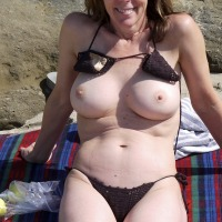 Medium tits of my wife - Eddie