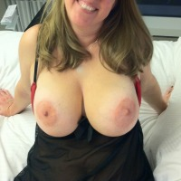 Very large tits of my wife - Funcouple2011