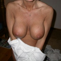 Very large tits of my wife - BooBoo