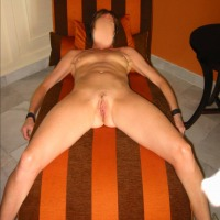 Small tits of my wife - Long Legged Wife