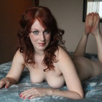 The Surprise - Lingerie, Redhead