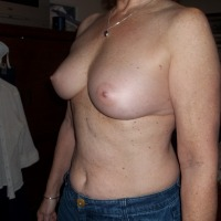 Medium tits of my wife - Baby2