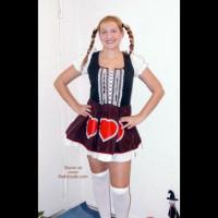 I Was Heidi For Halloween