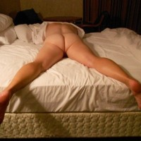 58 y/o Wife in Hotel Waiting On Room Service - Wife/Wives