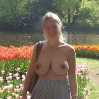 Very large tits of my girlfriend - Mabel