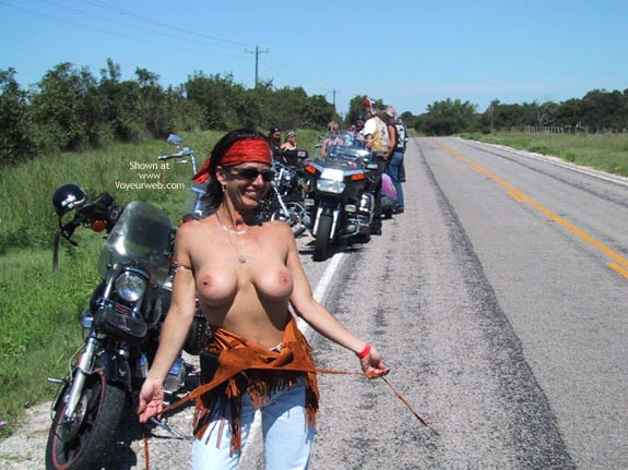 Pic #1 - Wife At A Biker Rally