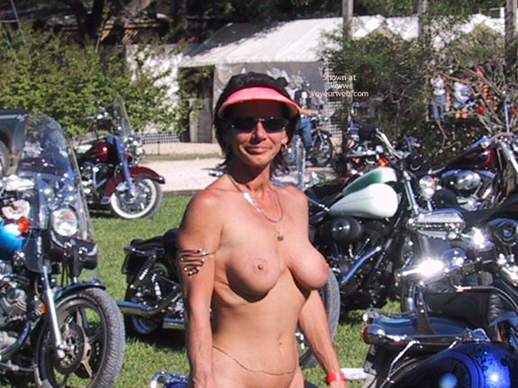 Pic #5 - Wife At A Biker Rally