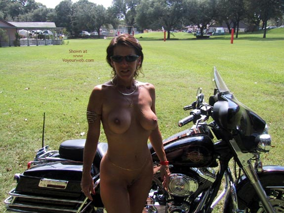 Pic #7 - Wife At A Biker Rally