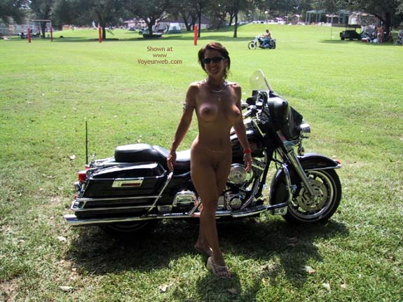 Pic #8 - Wife At A Biker Rally