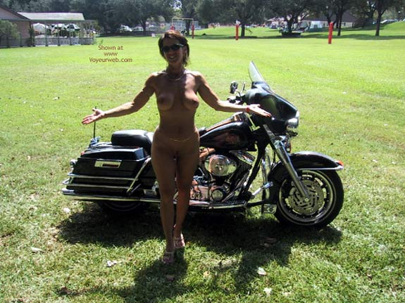 Pic #9 - Wife At A Biker Rally