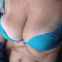 Large tits of my wife - my  clevage