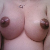 Medium tits of my wife - miss K