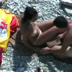 *SOGood Fucking On Nude Beach #2