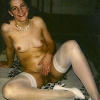 Stockings!!! - Lingerie, Brunette