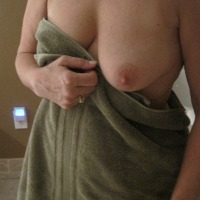 Large tits of my girlfriend - CO