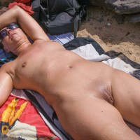 Beach Exhibition - Beach, Brunette