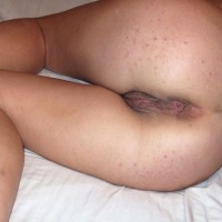 My wife's ass - cock lover