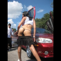 Texass Car Show Thongs