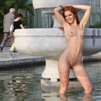 Vienna Late Summer - Exposed In Public, Nude In Public