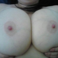 Extremely large tits of my ex-wife