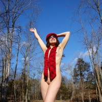 Under The Red Hat - Nude In Public