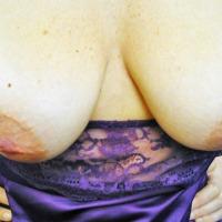 Medium tits of my wife - Lena