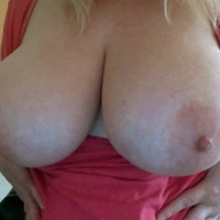 My extremely large tits - Blondie