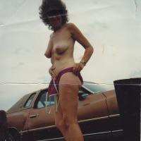 Medium tits of my ex-wife - m
