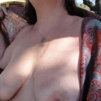 Medium tits of my wife - Jan