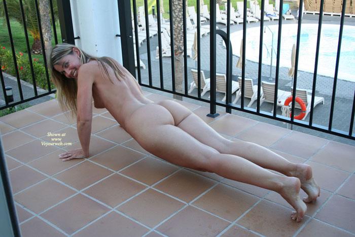 Pic #5 Elektra Works At Hotel Balcony
