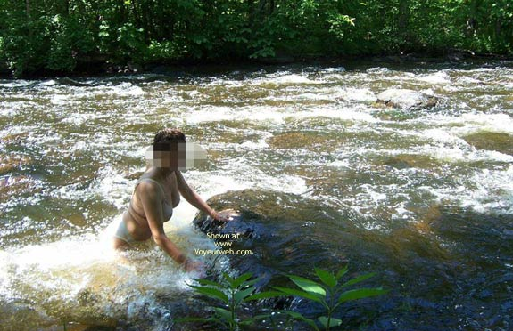 Pic #4 - Badgergirl In The Rapids