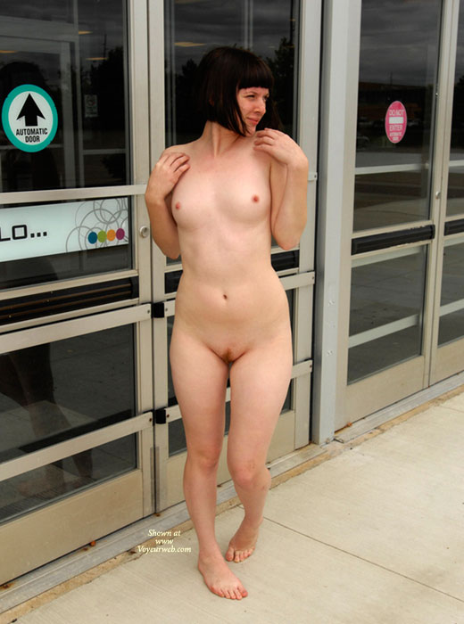 Hairy girl nude in public consider