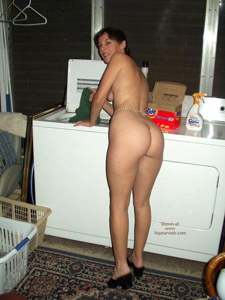 Pic #2 - Amy All Out Of Clean Clothes