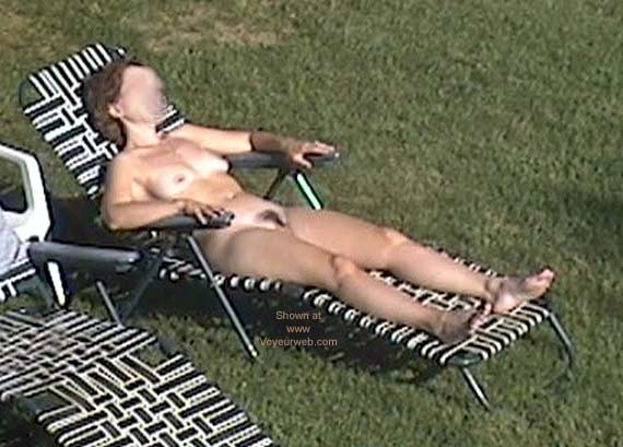 Pic #1 - My Wife Tanning Nude