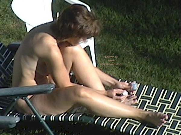 Pic #5 - My Wife Tanning Nude