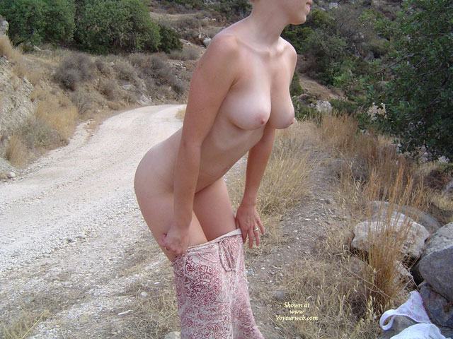 Naked Girl With Large Breasts Stripping By The Side Of The Dirt Road - Erect Nipples, Large Aerolas, Large Breasts, Naked Girl, Nude Amateur , D Cup Breasts Naked Outside, Stripping Outdoors By The Dirt Road, Long Lean Arms, Nude In Nature, Undressing Outside, Large Breasts Bent Over, Slipping Out Of Her Slip By The Road, Milky Breasts