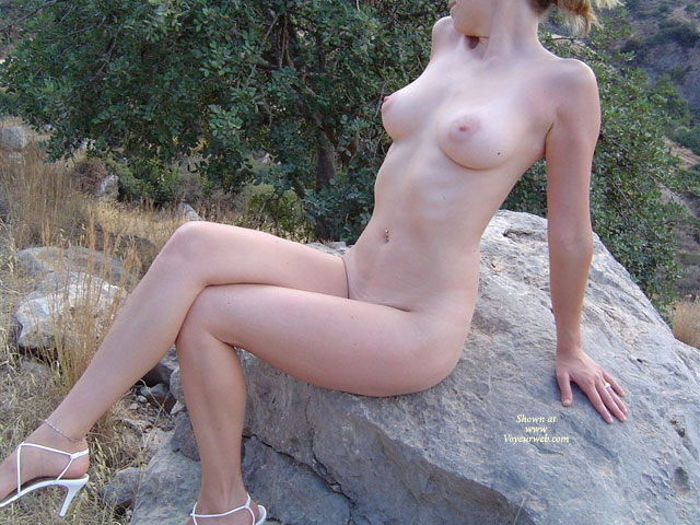 Naked On A Rock Part 1 - September, 2007 - Voyeur Web-9279